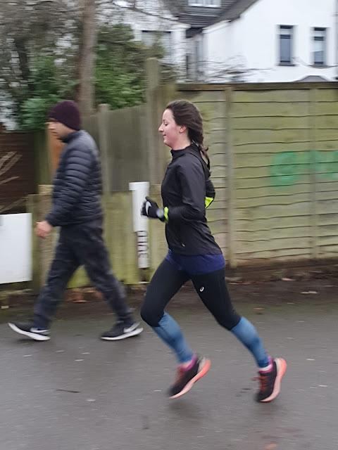 Running at parkrun
