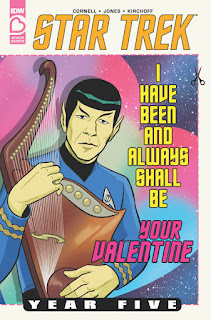 Star Trek Year Five Valentine's Day Special alternate cover