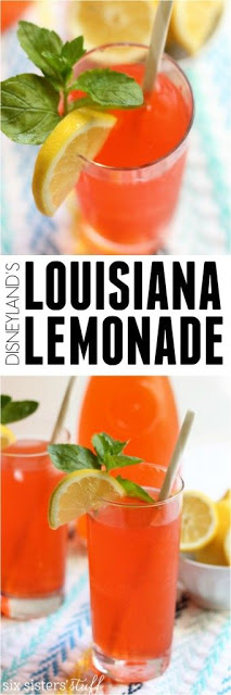 DISNEYLAND'S LOUISIANA LEMONADE