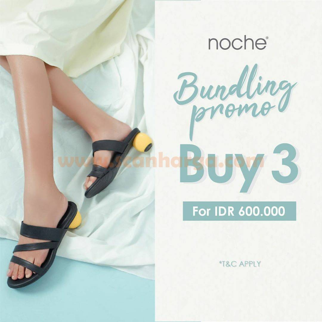 9to9 Noche Bundling Promo Buy 3 For IDR 600.000