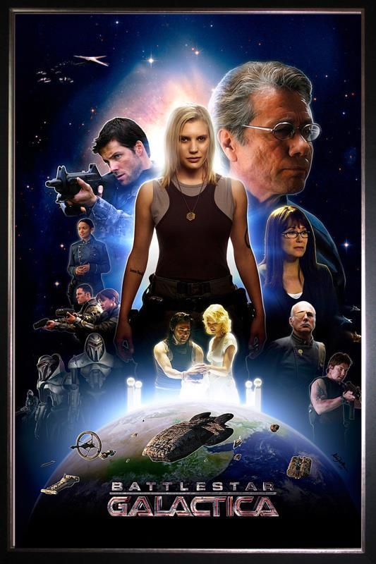 Battlestar Galactica Serie Completa 720p Latino/Ingles