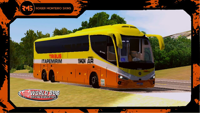 Irizar I8, Viação Itapemirim, Tribus, Skins, Skins World Bus, Wbds, World Bus