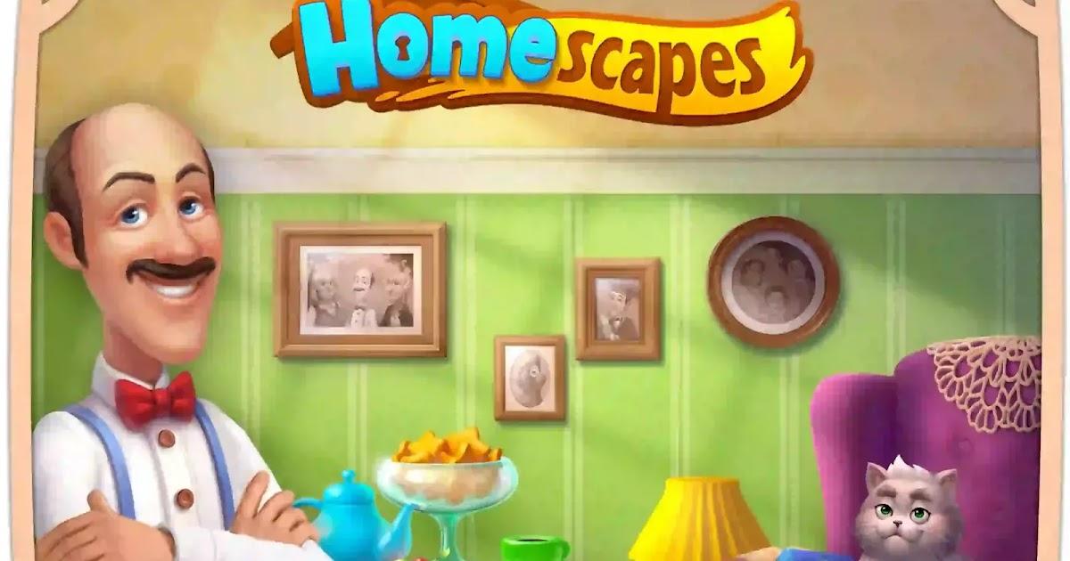 تهكير لعبة homescapes اخر اصدار