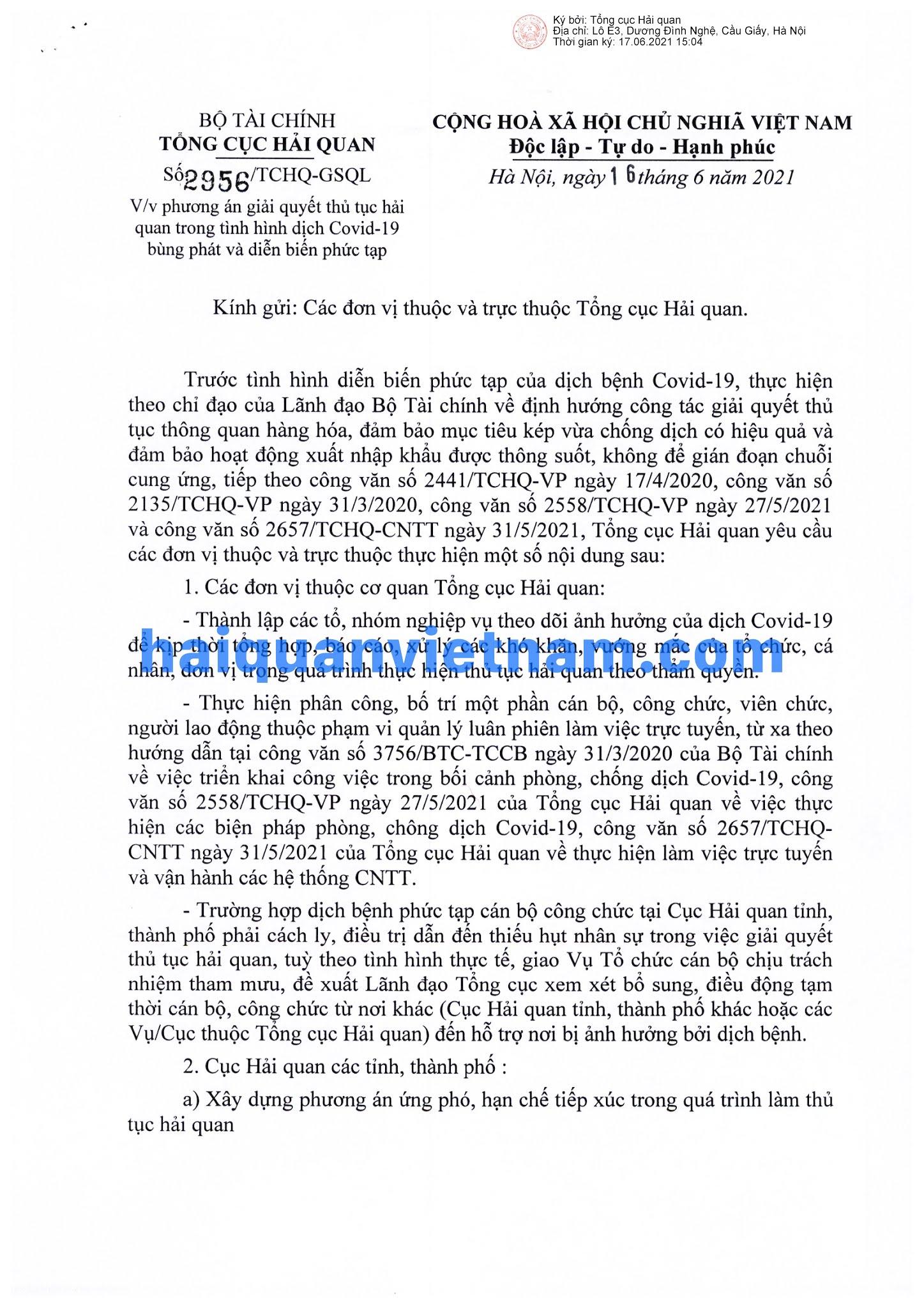 [Image: 210616_2956_TCHQ-GSQL_haiquanvietnam_01.jpg]