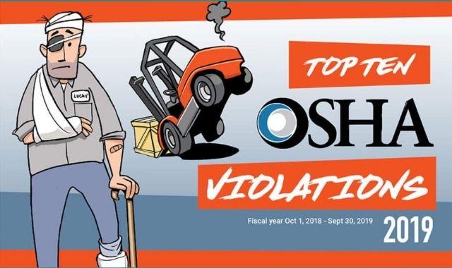 A List of Some 2019 OSHA Violations