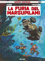 Spirou y Fantasio 55: La furia del Marsupilami