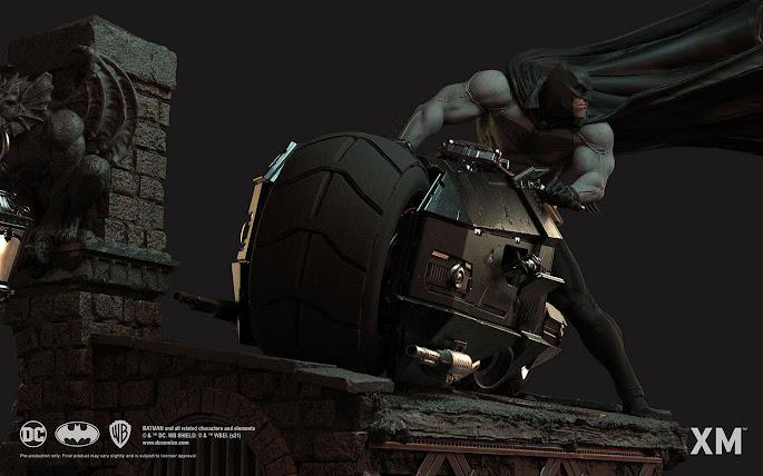 Batman and Batcycle - XM Studios