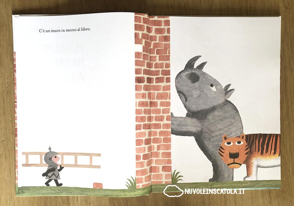il muro in mezzo al libro