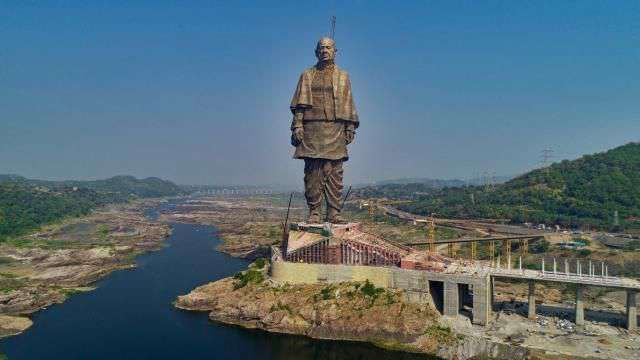 The world's tallest statue will be at the head of Sardar Patel, only for 3 years, the idol will take place