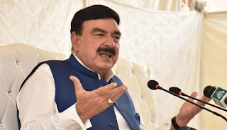 Sheikh Rasheed Ahmed's prayer for the new Chief Election Commissioner was accepted