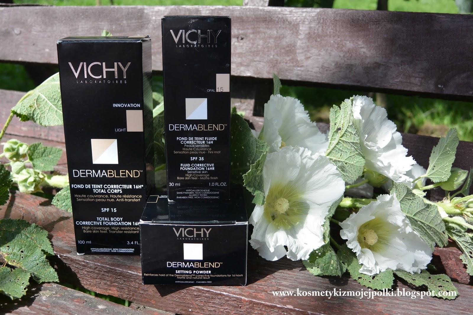 VICHY DERMABLEND - makijaż korygujący bez efektu maski