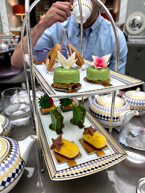 The Berkeley Hotel - high tea for fashion week