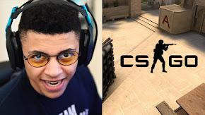 [Fortnite] Game thủ chuyên nghiệp của TSM – Myth với tình huống 'mù mắt' khi chơi thử CS:GO