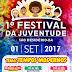 SÃO DESIDÉRIO: PREFEITURA MUNICIPAL REALIZA O 1° FESTIVAL DA JUVENTUDE