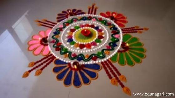 Diwali rangoli 2019