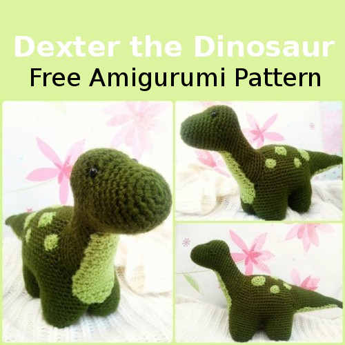 Dexter the Dinosaur - Free Amigurumi Pattern