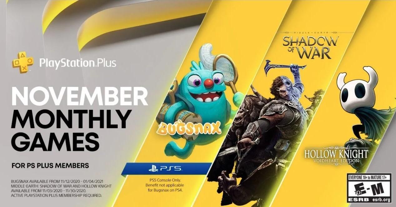 Kasım Ayında Ücretsiz Olacak Playstation Plus Oyunları Açıklandı