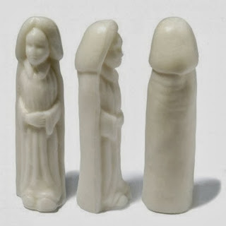 Funny Catholic Mother Mary soap fail image
