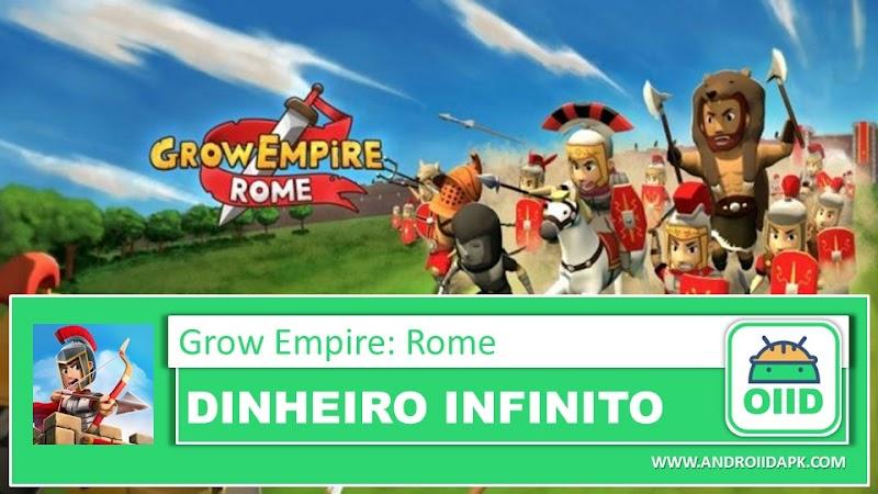 Grow Empire: Rome - APK MOD HACK - Dinheiro Infinito