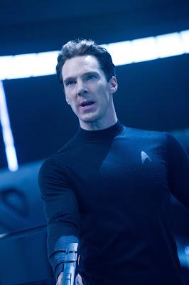 Benedict Cumberbatch as John Harrison in Star Trek Into Darkness, in cinemas May 17
