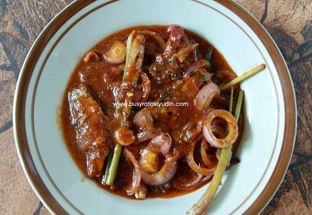 Masakan Sardin lain dari yang lain