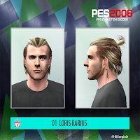 PES 6 Faces Loris Karius by El SergioJr
