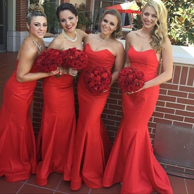 Thinking, what kind of dresses should you pick for your lovely ladies? Well generally, what most of the would-be brides do is that they purchase dresses according to their bridesmaids' figure, complexion or the wedding theme.