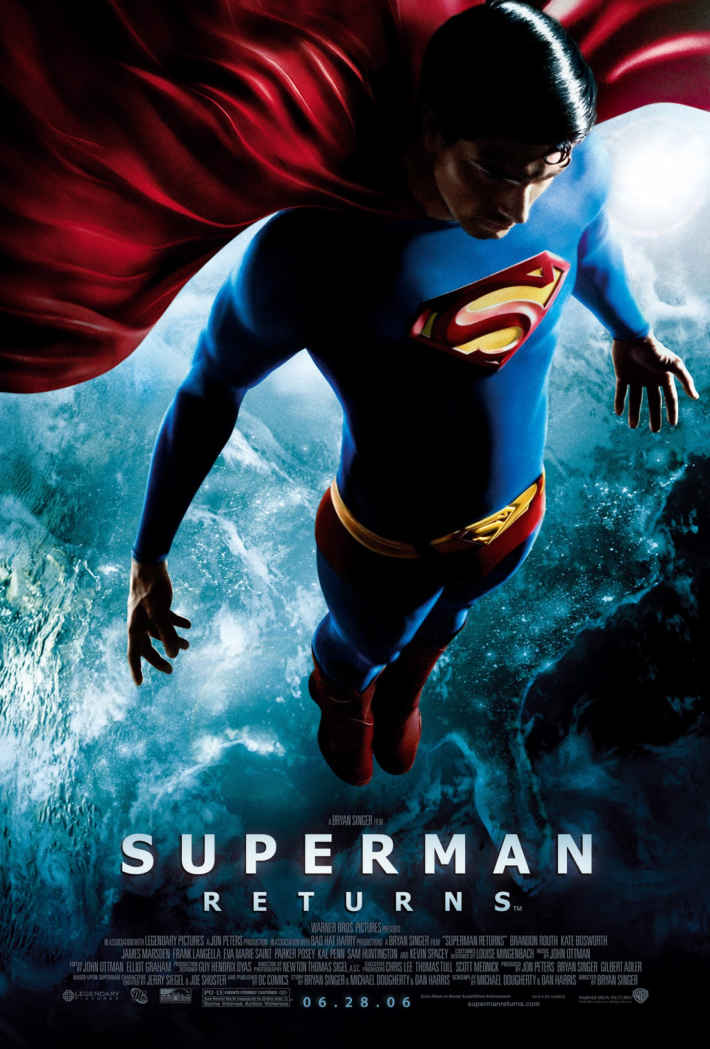 superman powrót routh spacey