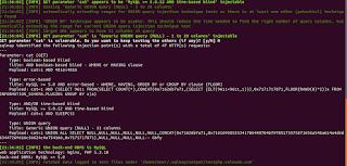 SQLMAP - Teste Básico Resultado - Téchne Digitus