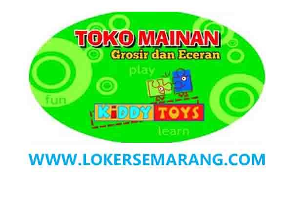 Lowongan Kerja Semarang Admin Lulusan Sma Smk Di Kiddy Toys Portal Info Lowongan Kerja Jogja Yogyakarta 2021