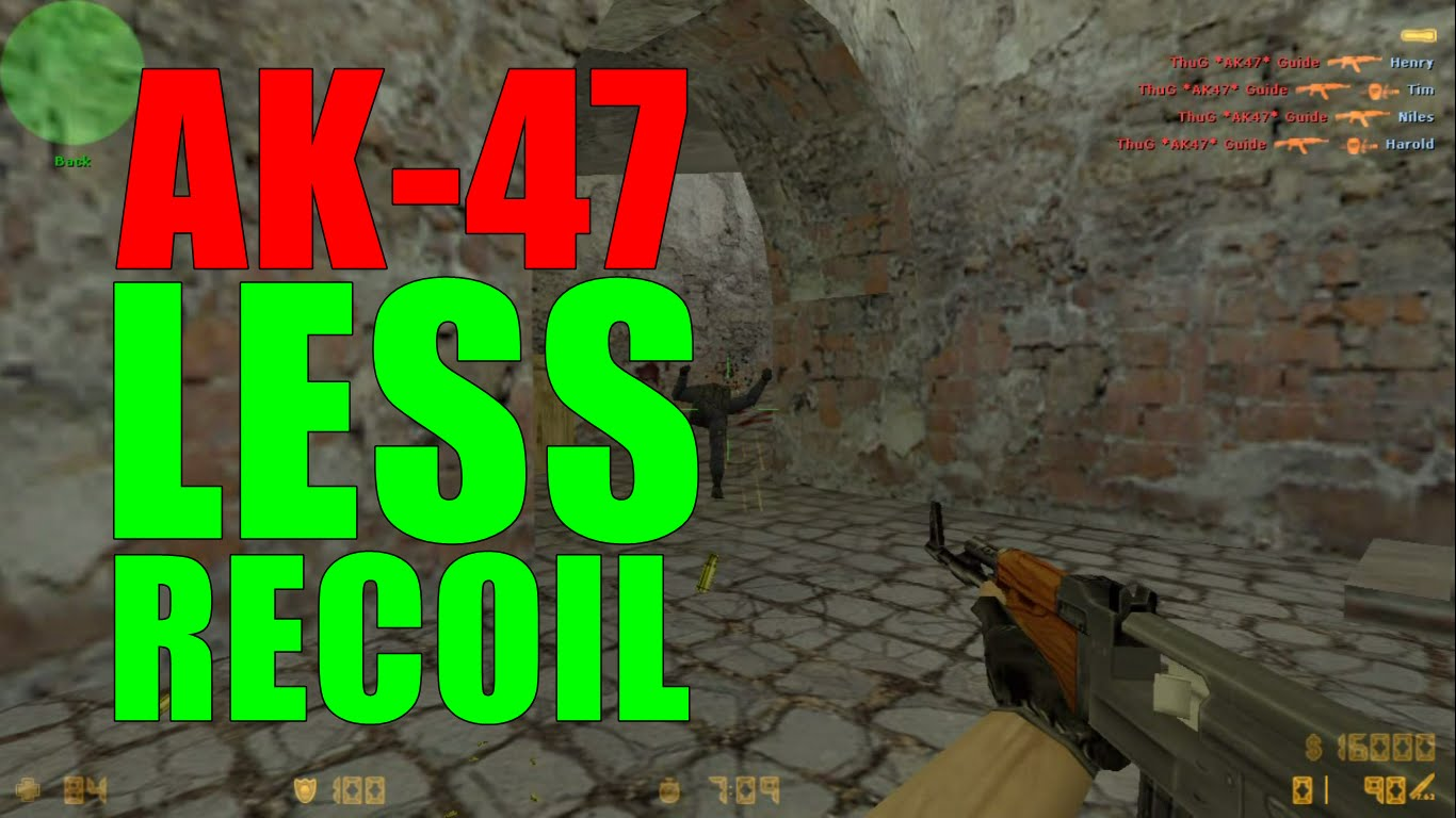AK-47 GUIDE (Recoil Control) - CS LOVERS