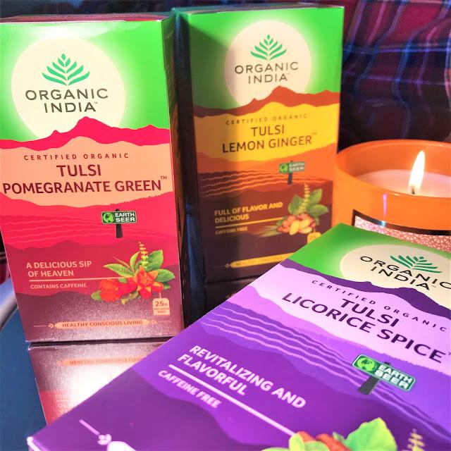 organic india teas