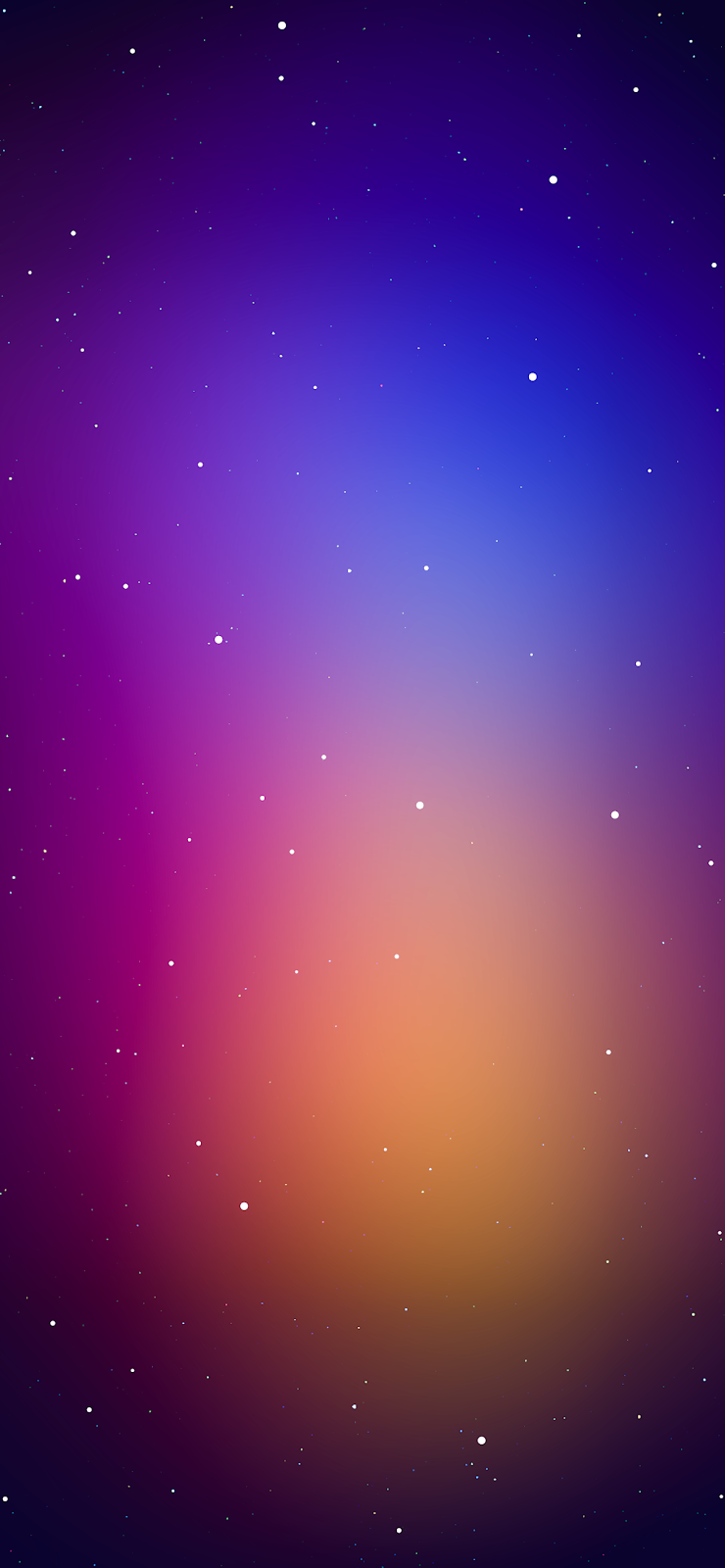 Gradient with stars