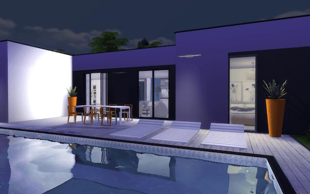maison luxe sims 4