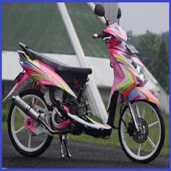 terbaru modifikasi mio m3 warna pink