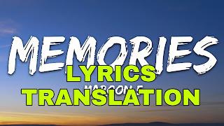 Memories Lyrics Meaning in Hindi (हिंदी)– Maroon 5 | Memories