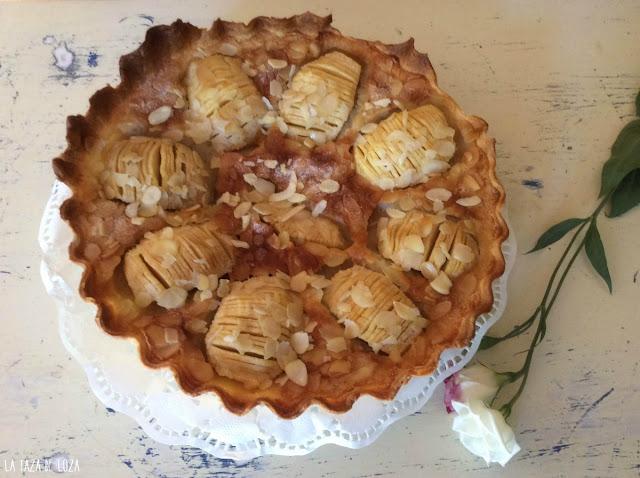 tarta-fácil-de-manzana-y-almendras