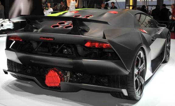 Sport Car Garage Lamborghini Sesto Elemento 2013