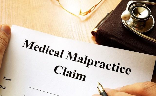 medical malpractice lawsuit claim