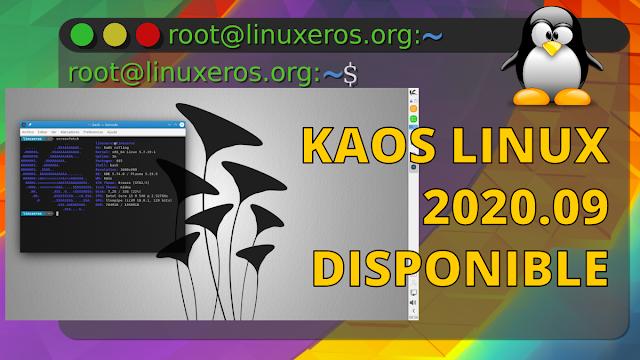 KaOS Linux 2020.09 Disponible con KDE Plasma 5.19.5 y Calamares