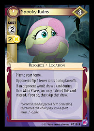 My Little Pony Spooky Ruins Seaquestria and Beyond CCG Card