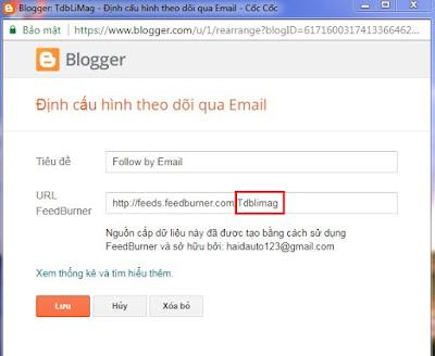 Code Popup nhận tin bài qua Email xuất hiện 1 lần hỗ trợ giao diện Mobile cho Blogspot