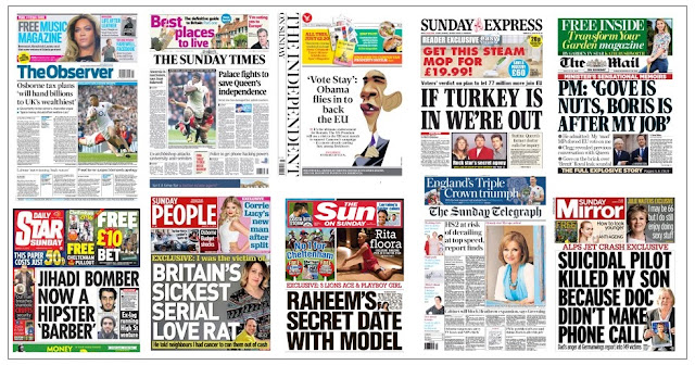 front pages 13-03-16
