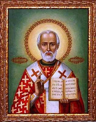Icono de San Nicolas de Bari