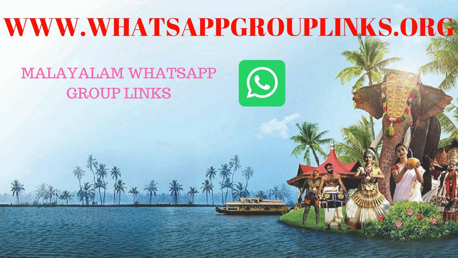 join Malayalam WhatsApp group links list - Whatsapp Group Links