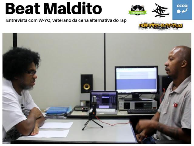 Rap&Rock: W-YO lança novo clipe e manda a real no podcast Beat Maldito