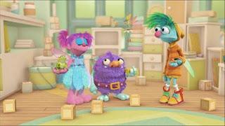 Abby Cadabby Blögg Gonnigan Mrs. Sparklenose, Abby's Flying Fairy School Pet Day, Sesame Street Episode 4401 Telly gets Jealous season 44