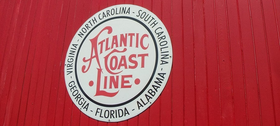 Vagón de la Atlantic Coast Line en el Naples Depot