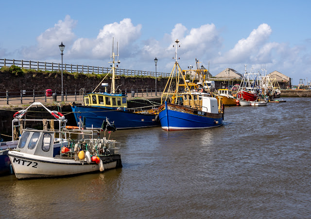 Photo of more fishing boats in Maryport Harbour