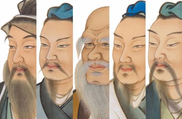 Cinco grandes filósofos de la antigua China - Libros digitalizados